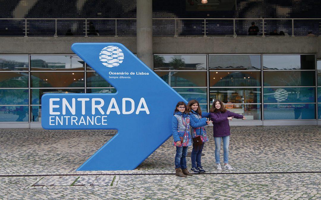 Sinalética para o Oceanário de Lisboa