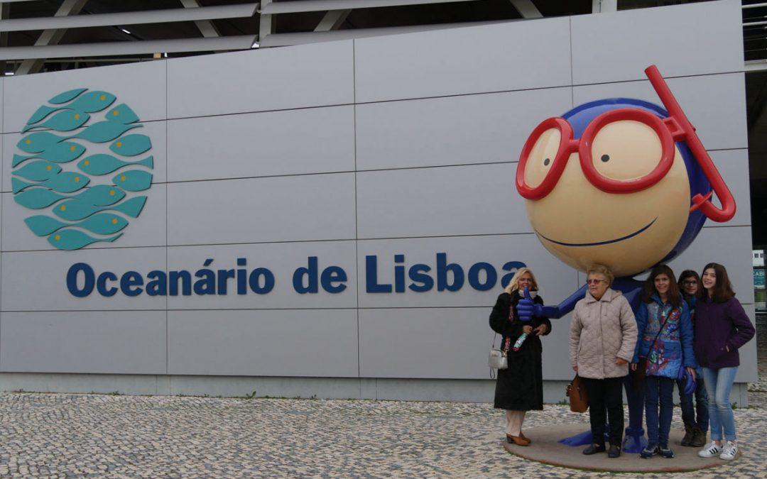 Mascotes para o Oceanário de Lisboa